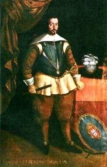 """A Monarquia Portuguesa Quarta Dinastia – Bragança   1640 - 1656 D. João IV """"O Restaurador"""" (19 Março 1604 V. Viçosa-6 Novembro 1656 Lisboa) Casou com Dona Luísa Francisca de Gusmão"""