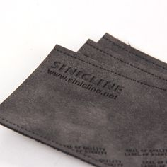 Leather labels/ Leather patches