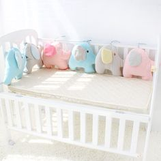 Baby Bedding Baby Bed Bumper Ins Cot Bumper Baby Crib Protector Infant Cushion Pillow Rabbit Ear Shaped Print Crib Bumper For Baby Newborn