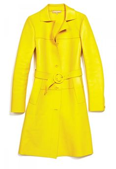 The 30 Spring 2013 #shopping must haves. Michael Kors #yellow jacket, $8,995.    See more at: http://www.fashionmagazine.com/blogs/shopping/2013/02/27/spring-2013-fashion-must-haves/