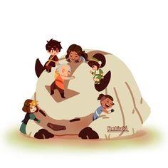 its appa loving hrs 🥰🥰🥰 Avatar Aang, Avatar Airbender, Avatar Legend Of Aang, Avatar The Last Airbender Funny, The Last Avatar, Team Avatar, Legend Of Korra, Chibi, Accel World