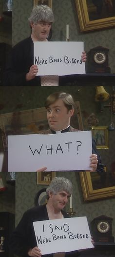Father Ted and its classic humour British Tv Comedies, British Comedy, Ted Quotes, Movie Quotes, Father Ted, British Humor, Uk Tv, Comedy Tv, Classic Tv