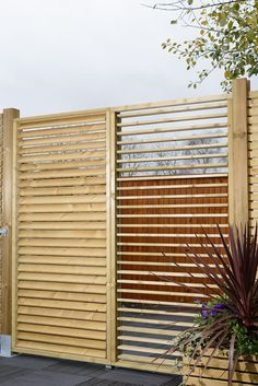 New garden screens to create distinct spaces and offer