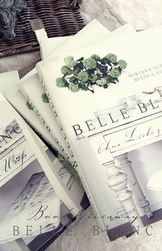 Belle Blanc, the first book