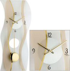 AMS AMS Wanduhr Quarz mit Pendel satiniertes und bedrucktes Mineralglas Jetzt bestellen unter: https://moebel.ladendirekt.de/dekoration/uhren/wanduhren/?uid=085ef6ea-bda4-5cb4-885c-c2f5b090a79b&utm_source=pinterest&utm_medium=pin&utm_campaign=boards #heim #uhren #dekoration