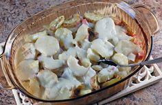 Ham & Swiss Scalloped Potatoes