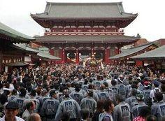 Sanja matsuri fête du Japon tradition et tatouages
