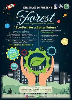 #InfoLomba #AnekaLomba #FOREST2018 #SMAN26 #Jakarta FOREST 2018 Aneka Lomba Berhadiah Total 15 Juta Rupiah  LOMBA: 21 April 2018  http://infosayembara.com/info-lomba.php?judul=forest-2018-aneka-lomba-berhadiah-total-15-juta-rupiah