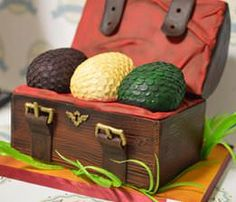 Game of Thrones Dragon egg cake by Amy Johnson. To see more great cakes by Amy, Please visit: https://www.facebook.com/Bakeacake/ For all your cake decorating supplies, please visit craftcompany.co.uk