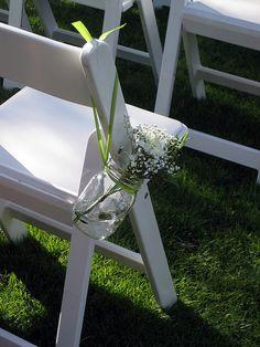 Wedding - Aisle Decorations by georgie, my love, via Flickr