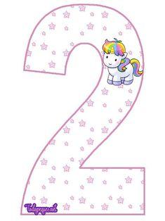 Con anterioridad hemos compartido en el sitio el abecedario de Unicornios,con fondo de estrellas. En esta publicación, y con igual fondo, encontrarás la numeración de Unicornios, los números del 0…
