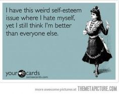 It's okay because I hate everyone else, too. ;)
