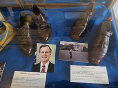The Brockton Shoe Museum features shoes worn by celebrities, including former US presidents George Bush and Gerald Ford