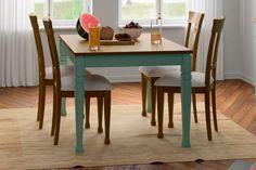 ¿Se te había ocurrido añadir un toque de color a tu mesa de comedor o de centro del salón?  #deco #decoracion #inspiration #ideas