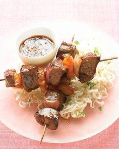 Asian Beef Skewers - Martha Stewart Recipes