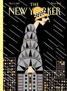 "The New Yorker (Nov. - ""The Height of Fashion"" cover by Michael Roberts The New Yorker, New Yorker Covers, Web Design, Design Art, Graphic Design, Capas New Yorker, Michael Roberts, Magazine Art, Magazine Covers"