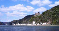 St. Goarshausen am den Rhein, Deutschland.  I was here in 1991.