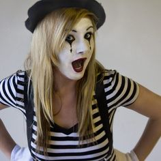 How to Make Your Own Mime Costume