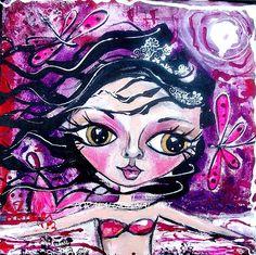 Mermaid Art by Loralai $119