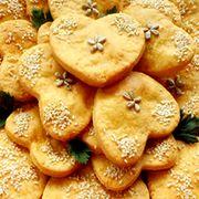 Ez a legporhanyósabb, legomlósabb linzer titka! Snack Recipes, Snacks, Cantaloupe, Ale, Chips, Fruit, Food, Snack Mix Recipes, Appetizer Recipes