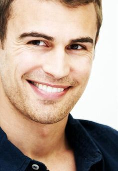 Theo James---monochromatic face possibility