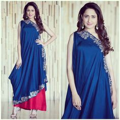 Indian Gowns, Indian Wear, Indian Outfits, Jayanti Reddy, How To Make Clothes, Making Clothes, Sari Dress, Blouse Designs, Dress Designs
