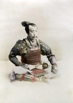 Samurai, Ogawa Kazumasa, ca. 1890 (Lugano - Museo delle Culture - Collezione «Ada Ceschin Pilone»)