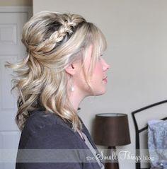 Bridal party hair do option