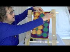 Video Instructions for Acorn Tapestry Loom