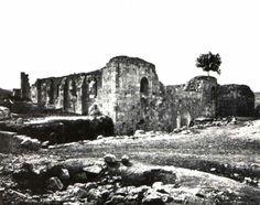 Nablus-نابلس: كنيسة سانت جون في نابلس 1887