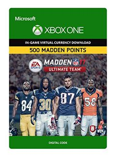 farcry5gamer.comMadden NFL 17: MUT 500 Madden Points Pack - Xbox One Digital Code Price:     MADDEN POINTS TO REDEEM FOR MADDEN NFL 17 ULTIMATE TEAM ITEMS.  Play the fastest growing mode in Madden NFL – Madden Ultimate Team! Assume the role of Team GM, build your dream team of NFL stars, and take them to the fi eld to compete for Ultimatehttp://farcry5gamer.com/madden-nfl-17-mut-500-madden-points-pack-xbox-one-digital-code/
