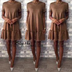 Rustic Dresses, Dressy Dresses, Simple Dresses, Vintage Dresses, I Dress, Dress Outfits, Casual Outfits, Fashion Outfits, Womens Fashion