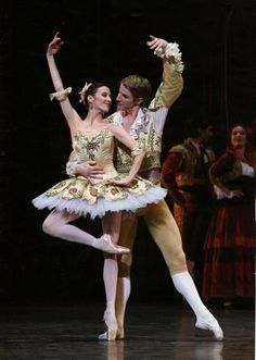 Ludmila Pagliero and Karl Paquette in Rudolf Noureev's Don Quixote