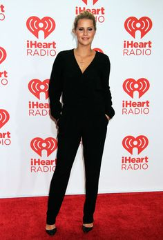 Claire Holt at the iHeartRadio Music Festival on September 21, 2013