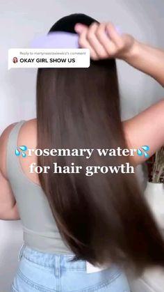 Hair Tips Video, Hair Videos, Long Hair Tips, Hair Care Tips, Hair Growing Tips, Grow Hair, Natural Hair Care, Natural Hair Styles, Long Hair Styles