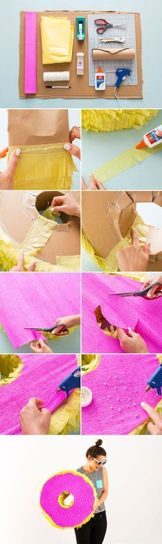 Make an epic donut piñata with this tutorial.