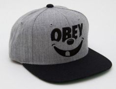 Obey Cap Gray Smiley by Obey, http://www.amazon.com/dp/B00CLCPACS/ref=cm_sw_r_pi_dp_.gBWrb17KJT63