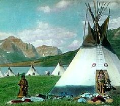 Blackfoot Legends - First Medicine Lodge, By George Bird Grinnell, 1913