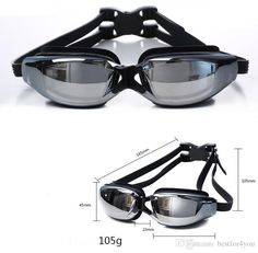b4f8387be0 Box packing Plating Myopia goggles Water Sports Swimming Waterproof HD anti  fog myopi goggle swimming glasses Racing Goggles for adults