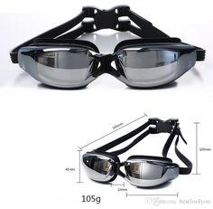 9dcd3617173 Box packing Plating Myopia goggles Water Sports Swimming Waterproof HD anti  fog myopi goggle swimming glasses Racing Goggles for adults
