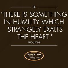 Like if you think humility is a great quality in leadership.