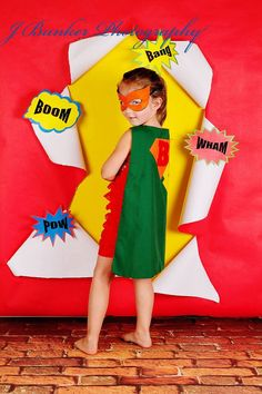 Super Hero Cape and Mask for  GIRLS by AllDressedUpCouture on Etsy, $30.00Photo By J Bunker Photography
