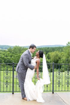 Bed and Breakfast Mountain Wedding | Dress by Stella York