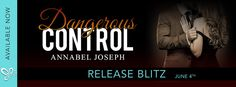 Nadine's Obsessed with Books: Dangerous Control (Dark Dominance #3) by Annabel J...