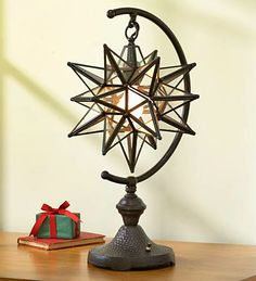 moravian star table lamp