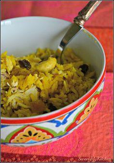 Sweet my Kitchen: Arroz de frango Oriental