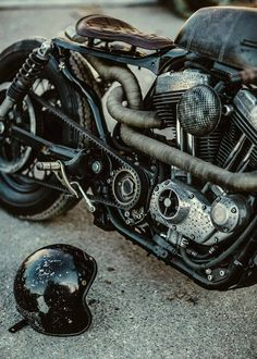 "viciouscustoms: "" (via #motorcycles #caferacer #motos 