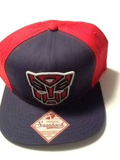 a5929acd5610a Transformers Hat Cap Snapback MARVEL COMICS COSTUME COSPLAY HAT  Bioworld   BaseballCap
