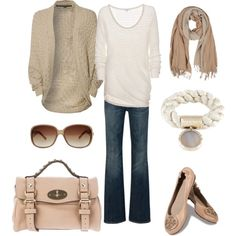 """""""Let's go to a café Fall Winter outfit"""" by natihasi"""