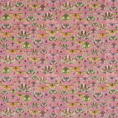 Issoria Rose Fabric | Designers Guild
